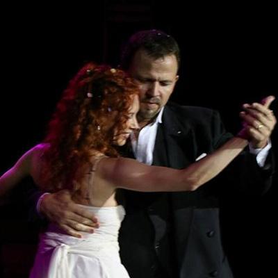 Claudio Hoffmann y Pilar Álvarez