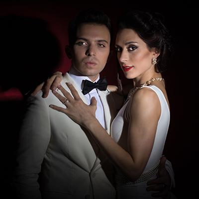 Natalia Cristofaro y Pablo Calvelli