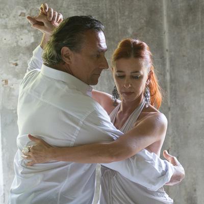 Giulio Bedin e Sabina Micheli
