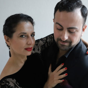 Maria Filali e Giovanni Eredia