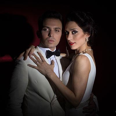 Pablo Calvelli y Natalia Cristofaro