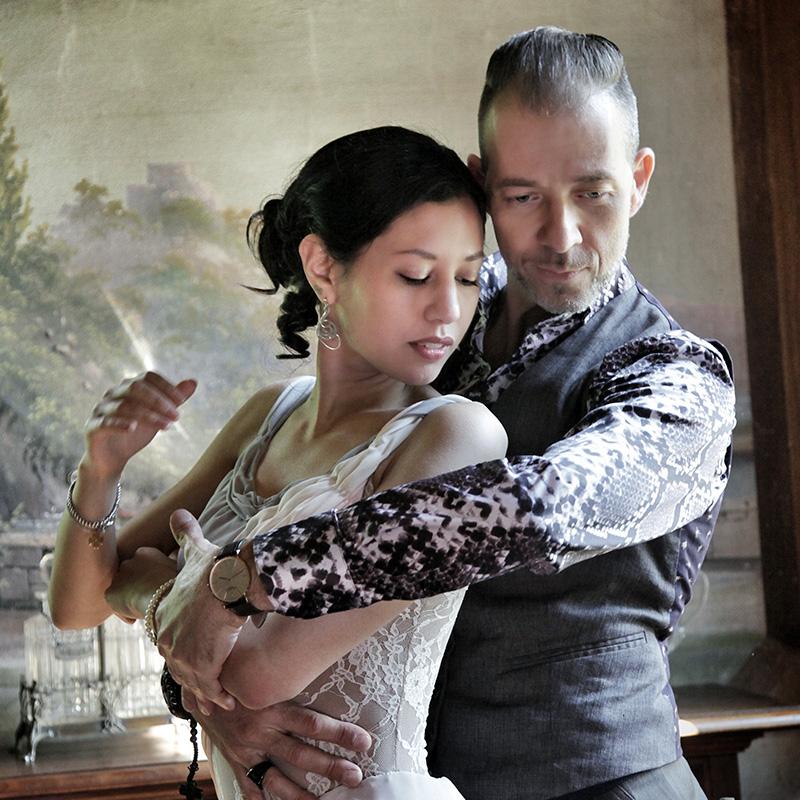 Silvina Tse y Michael Nadtochi